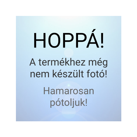 Kék virágos szíves keret