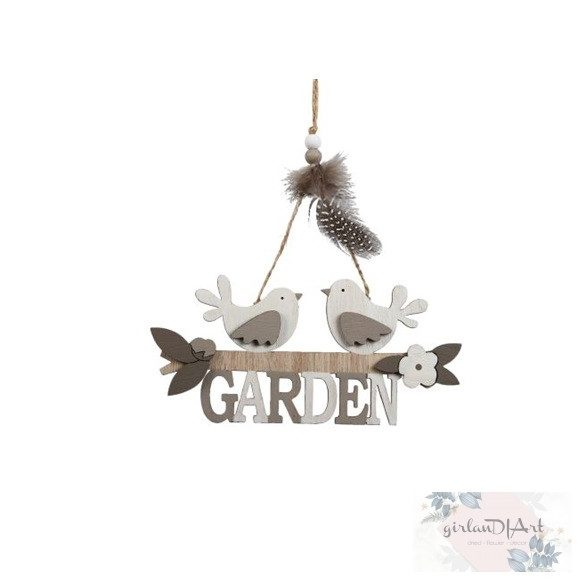 Akasztós kerti dekor