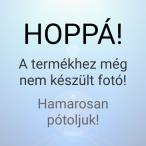 Ezüst drótkábeles fényfüzér, 20 LED, multi color - elem nélkül